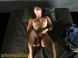 Cute Girl Masturbating