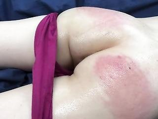 My Ass Spanked For The First Time