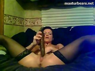 Janice Bringing Myself To An Anal Orgasm