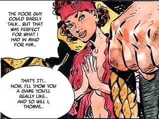 Maid Choking On Wrist Thick Cock, Very Perverted Comic Art Hardcore