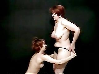 Old And Young Lesbian Amateur Performance