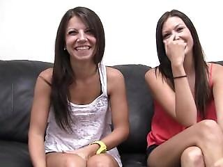 Backroom Casting Couch Melanie And Natalee (the Friendship Test)