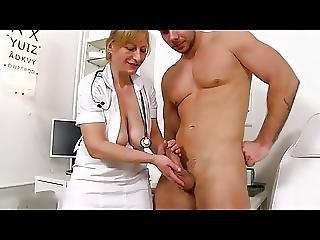 큰 자연의 가슴, 병원, 성숙한, 의료, MILF, 자연의, 자연 가슴, 처진 가슴, 침