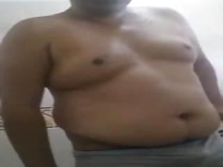 Chubby Showing Ass And Dick