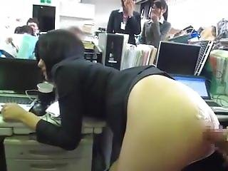 Humiliation ! Her Boss Fucks Her In The Office In Front Of Everybody !