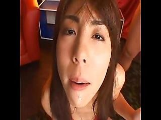Japanese Teen Miki Deepthroats And Swallows
