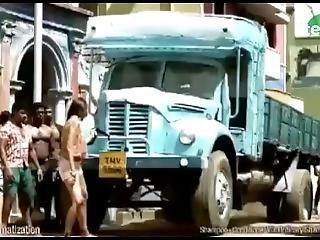 Strong Girl Pulls Truck Advert