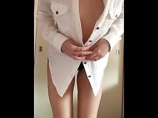 Sexy Teen Stripping
