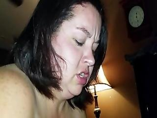 Sexy Bbw Sucks Dick And Squirts All Over Cock Pt 1