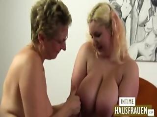 BBW mummo orgia