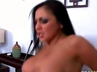 Big Tit, Brunette, Thief, Uniform