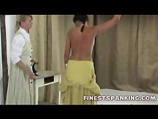 Tied Up Blonde Harsh Spanked