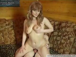 Mother Seduces Son In The Kitchen