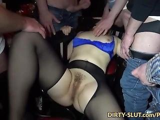 New Gangbang Parties With Naughty Wife Nicole