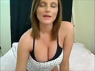 Beautiful Lactating Girl Playing With Herself