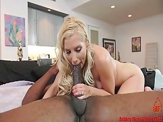 Cucky Licks Up Big Black Cock Creampie For Ashley Fires