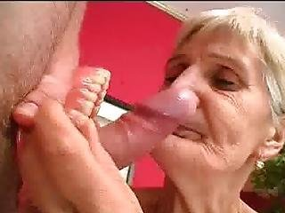 Dentures And Blowjobs Grandma