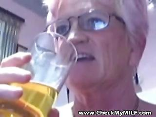 Old Granny Milf Cunt Licking, Blow Job And Sex