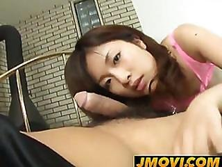 Kana Shimada Has Fucked Through Pink Crotchless