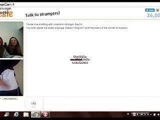 amatør, fransk, sjov, webcam