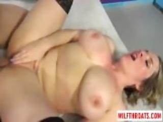 Big titty milf reverse cowgirl and cum in mouth