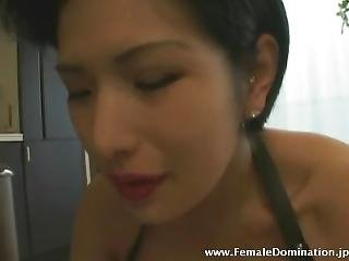 Japanese Femdom With Short Hair