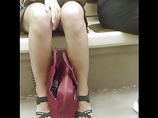 숨겨진 캠, 러시아의, 스커트, Upskirt, 뱃사공