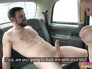 Femalefaketaxi Marine Gives Driver A Good Fuck