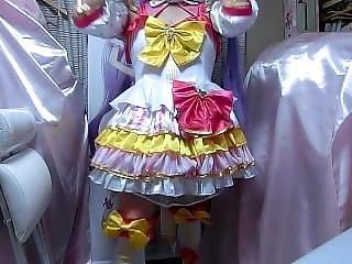 cosplay, transvestit, kleid