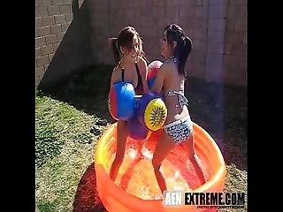 2 Cute 18yo Girls Playing