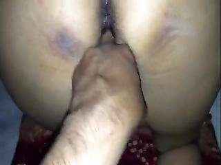 Desi Couple Having Sex And Figering In Doggy Style