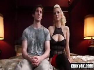 Hot mistress bdsm bondage and cumshot