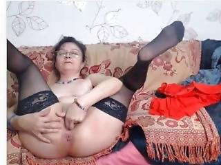 Mature In Glasses On Cam Naked.