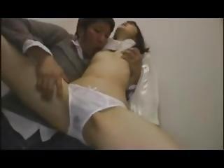 Japanese-orgasm/ Cute Girl Has Shaking Orgasm By Nipple Stimulation
