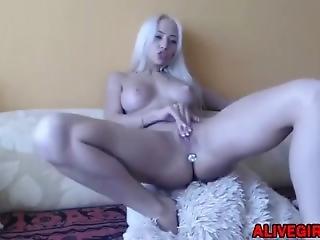 Sexy Russian Slut Melisssabens With Posh Body Loves A Butt Plug