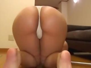 arsch, fetter arsch, brünette, harter porno, japanisch, pornostar, pov