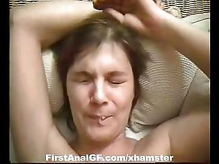 Amateur Gf Get Her Ass Fucked Deep With Facial End
