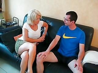 Amateur, Aunt, German, Horny, Milf, Young