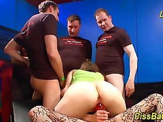 Kinky Skank Cum Covered