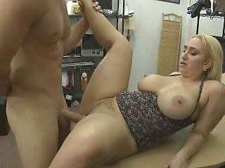 Huge Titty Blonde Sucking Dick And Banged In Pawn Shop