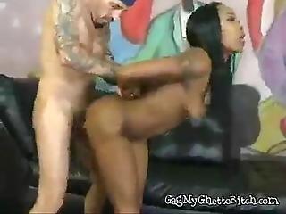 Black Girl Gets Treated Like A Slut