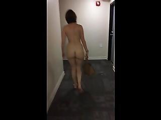 Girlfriend Dared To Streak