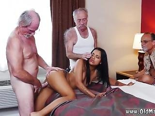 Homemade Amateur Old Couples Staycation With A Latin Hottie