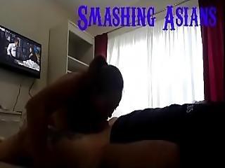 Asian Hotel Hooker Loves To Suck Cock Full No Edit