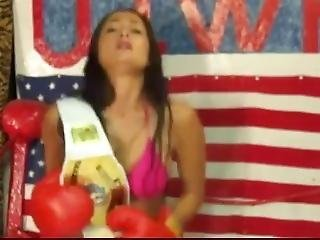Uiwp Entertainment Man Vs Women Wrestling,boxing,belly Punching Matches