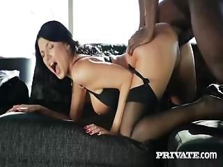 Private.com   Ania Kinski%5C%27s First Interracial Dick