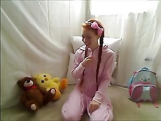 Amateur, Doll, Foot, Hot Teen, Masturbation, Redhead, Teen, Young