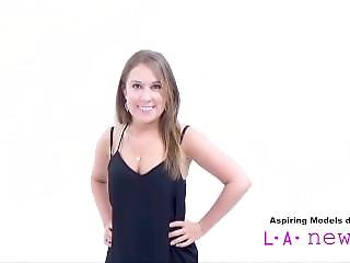 Cute Teen Swallows Cum At Photo Shoot Casting Audition