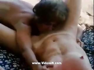 Lesbienne, Brusque, Sexe, Petits Seins, Jeune