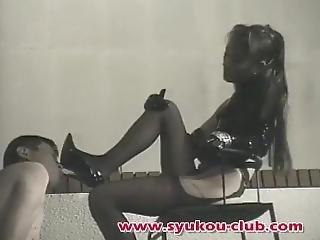 Clock Femdom Part 2 Japanese Femdom Classic_ Tall Striking Tokyo Mistress